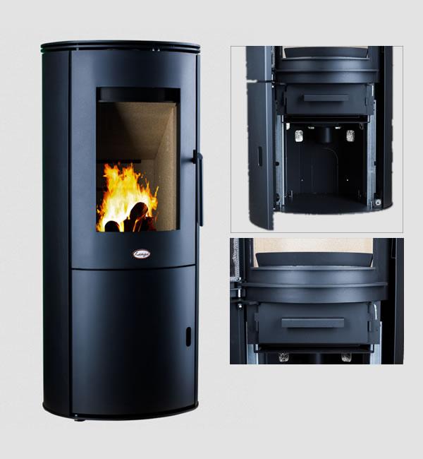 Design brændeovn
